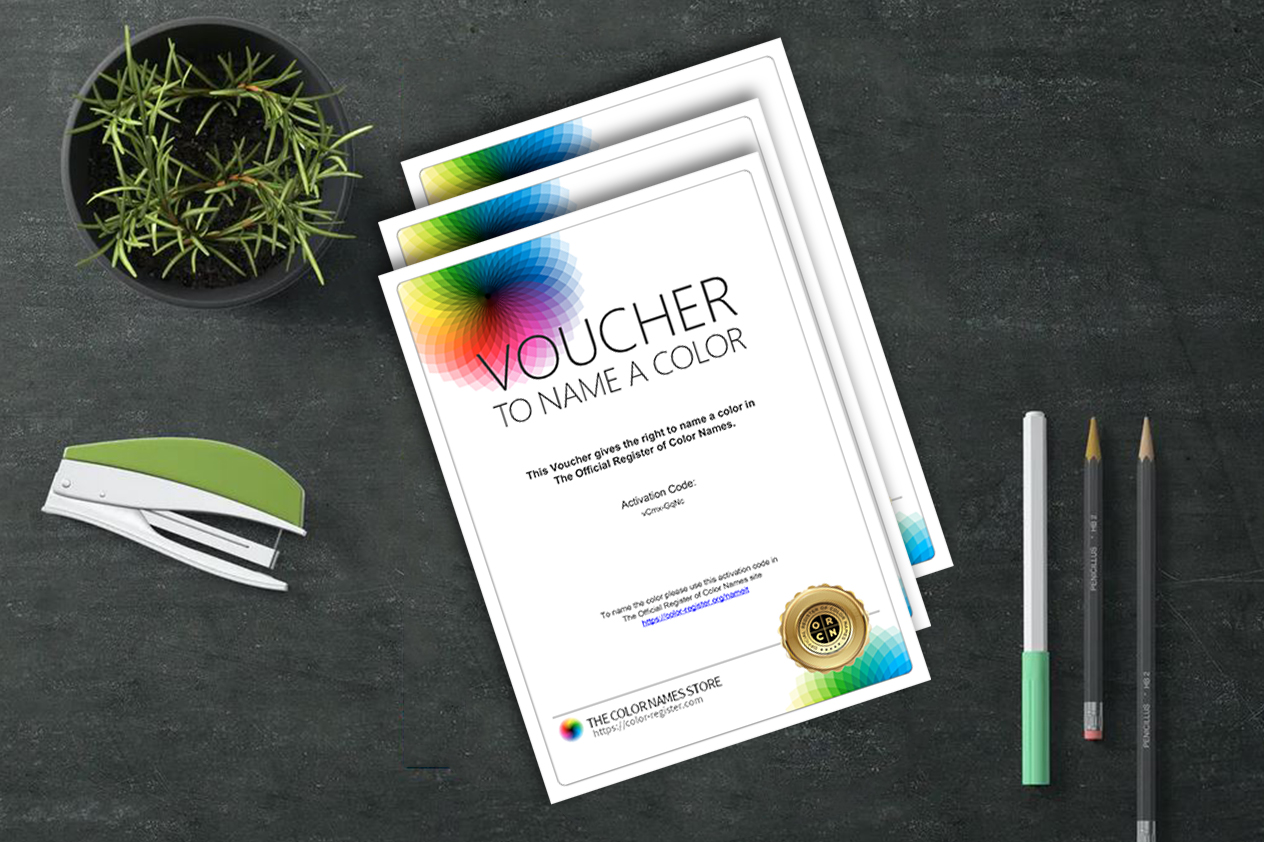 To Name Color - Vouchers